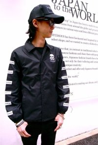 67 SQUARE SKUL CORCH JACKET (BLACK)