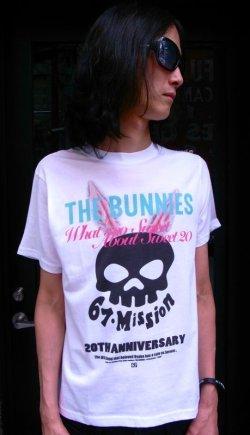 画像1: THE BUNNIES x 67mission コラボTシャツ (SAX)